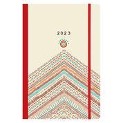Next ημερολόγιο 2022 Trends ημερήσιο flexi με λάστιχο 12x17εκ. Boho style