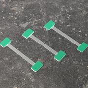Wobbler αλουμινίου-σύστημα προβολής τιμών-προσφόρων μήκος 7,5εκ. πακ. 100τεμ.