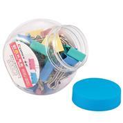 Comix πιάστρες σε διάφορα χρώματα, βαζάκι με 40 πιάστρες