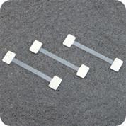 Wobbler πλαστικό-σύστημα προβολής τιμών-προσφόρων μήκος 7,5εκ. πακ. 100τεμ.