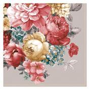 """Χαρτοπετσέτες 20τεμ. 33x33εκ """"Μπουκέτο λουλούδια"""" (SLOG 051402)"""