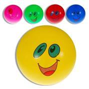 Μπάλα πλαστική φατσούλες διάφορα χρώματα