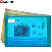 Comix τσαντάκι με φερμουάρ Α4 Υ25x35x3εκ.