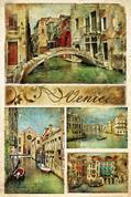 """Χαρτί decoupage """"Venice"""" 32x48εκ."""