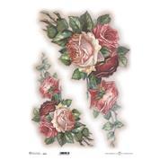 """Ριζόχαρτο """"roses 2"""" 42x29.7εκ.   (ITD-R014L)"""