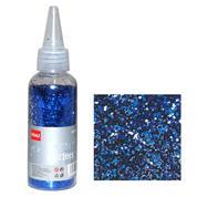 Glitter νιφάδες 1/24'' σε μπουκάλι μπλε 30γρ.