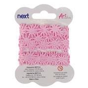 Κορδέλα ροζ μαργαρίτες 1,8 εκ x 3 μέτρα