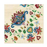 """Χαρτοπετσέτες 20τεμ. """"μοτίβο με λουλούδια"""" 33x33εκ. (SLOG 016901)"""