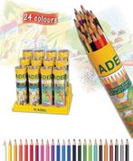 Adel ξυλομπογιές σε κύλινδρο 12 χρώματα