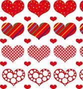"""Χαρτόνι """"καρδιές 2"""" 50x70εκ. 300γρ."""