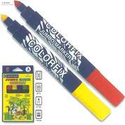 Centropen μαρκαδόροι ζωγραφικής jumbo colorfix 8515 6χρώμ.