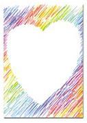 Προτυπωμένο χαρτί Α4 heart 100γρ. 25φ.