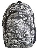 Montana τσάντα πλάτης εφηβική μαύρη σπορ με 1 θήκη 40x27x13εκ.