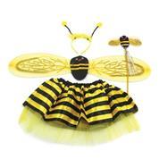Σετ μελισσούλα με στεκά, ραβδί, φτερά και τουτού
