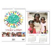 "Next ημερολόγιο τοίχου σπιράλ ""Παιδιά του κόσμου"" 25x35εκ."