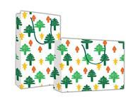 """Next χάρτ. τσάντα Υ24x23x10 """"Χριστουγεννιάτικα δέντρα"""""""