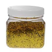 Χρυσόσκονη σε νιφάδες χρυσή 300ml.