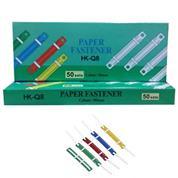 Ελάσματα πλαστικά σε διάφορα χρώματα 50τεμ.