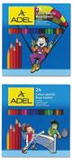 Adel ξυλομπογιές 24 χρώματα