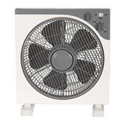 Ανεμιστήρα Box Fan 45W τετράγωνος άσπρο-γκρι Ø30x42x42εκ.